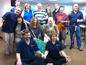 Some of the group at Flute Haven 2012