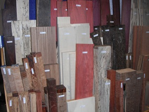wood on display at AAW
