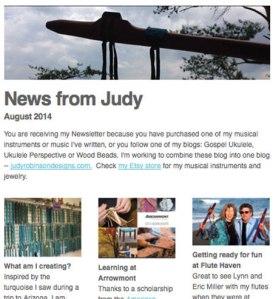 Newsletter - August 2014