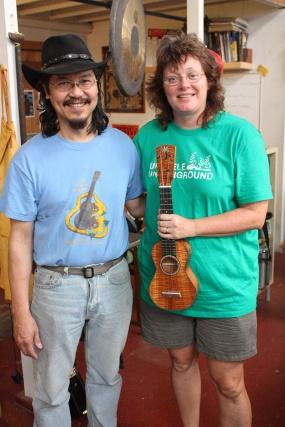 Mike is a great instructor and ukemaker!