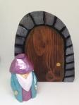 wizard and door by Judy Robinson