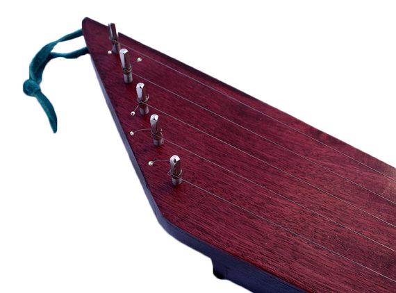 Purpleheart kantele
