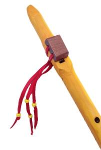 Yellow cedar flute, Am