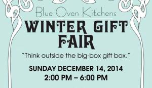 Winter Gift Fair flyer