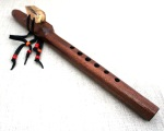 WrenSong Native American style flute in Bm, Mahogany