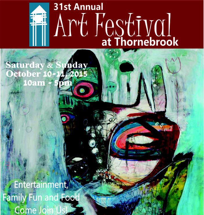 Thornebrooke Art Festival poster