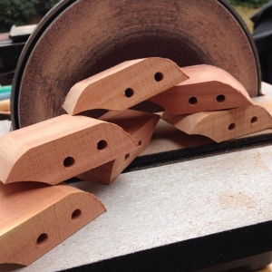 rough-cut birds for Native American-style flutes