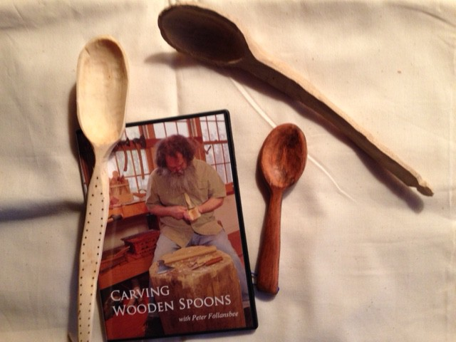 how to carve wood spoons