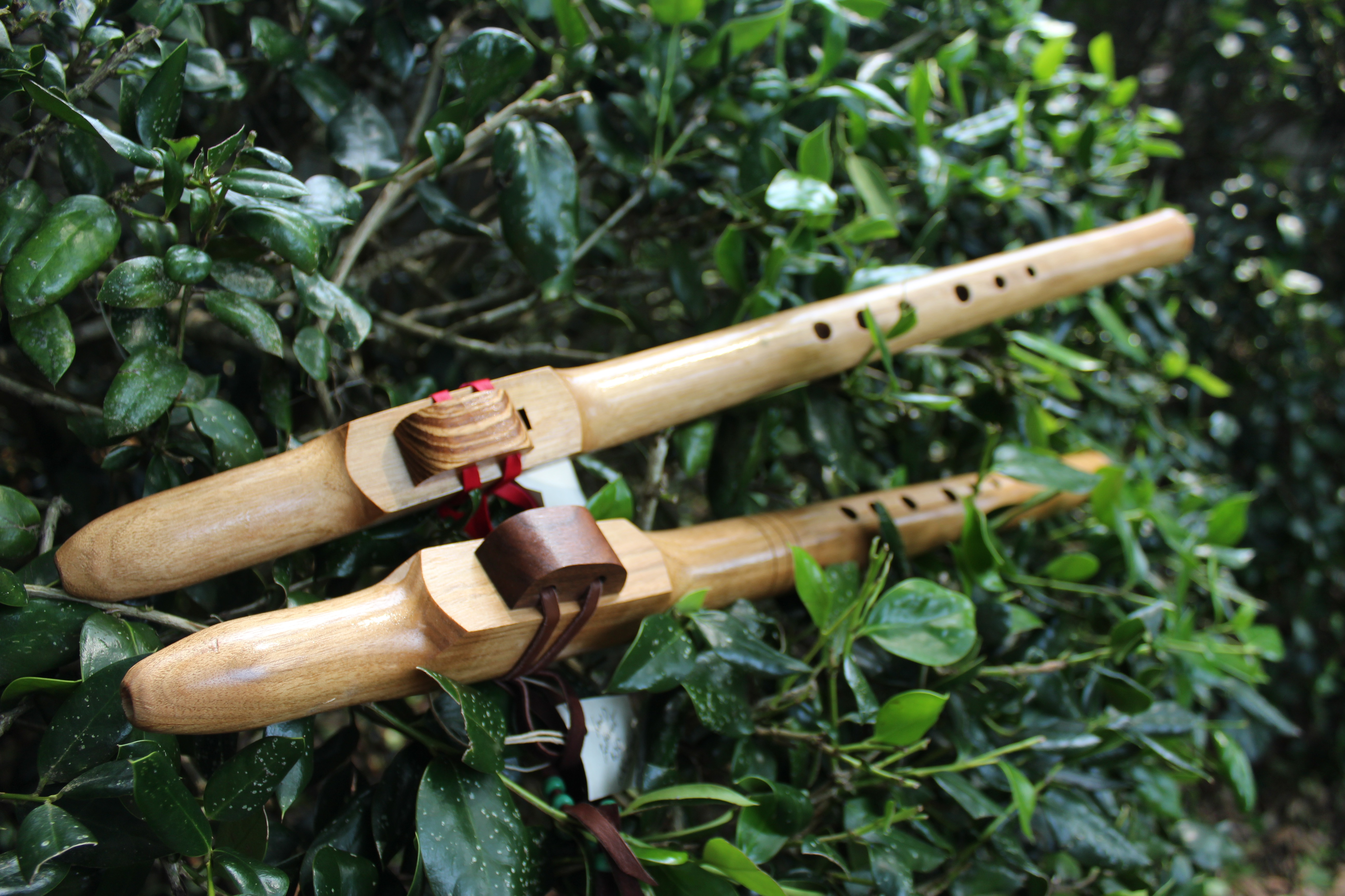 wood flutes by Judy Robinson
