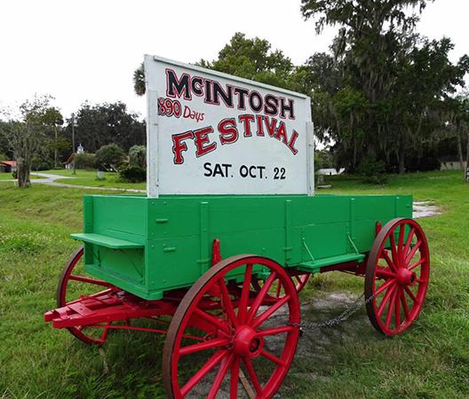 McIntosh 1890 Festival wagon