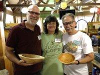 Doug Finkel, Judy Robinson and Bob Lyon