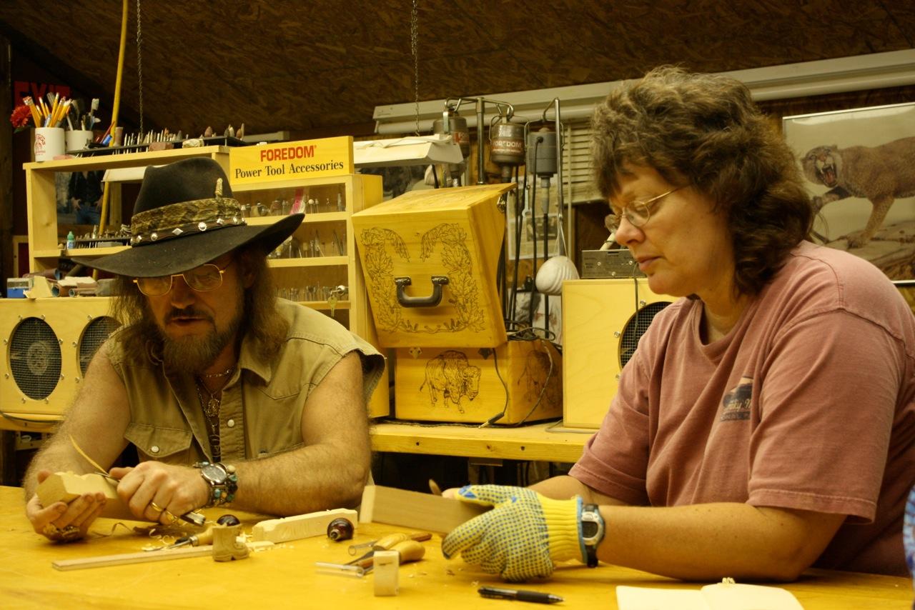 Gene Webb and Judy Robinson