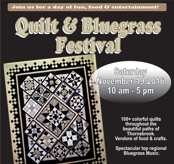 Quilt & Bluegrass Festival 2016 - logo