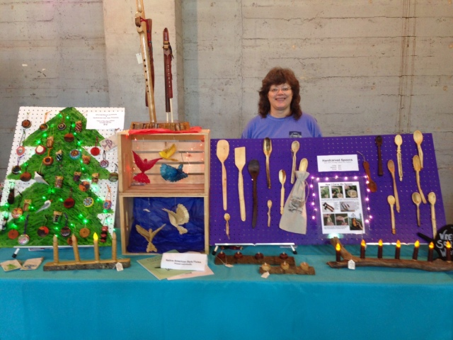 WrenSong Woods at GLAM Craft Show 2016