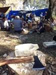 Earth Skills bowl carving workshop