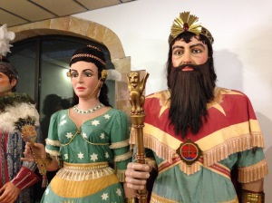gegants from Santa Maria del Mar in Barcelona