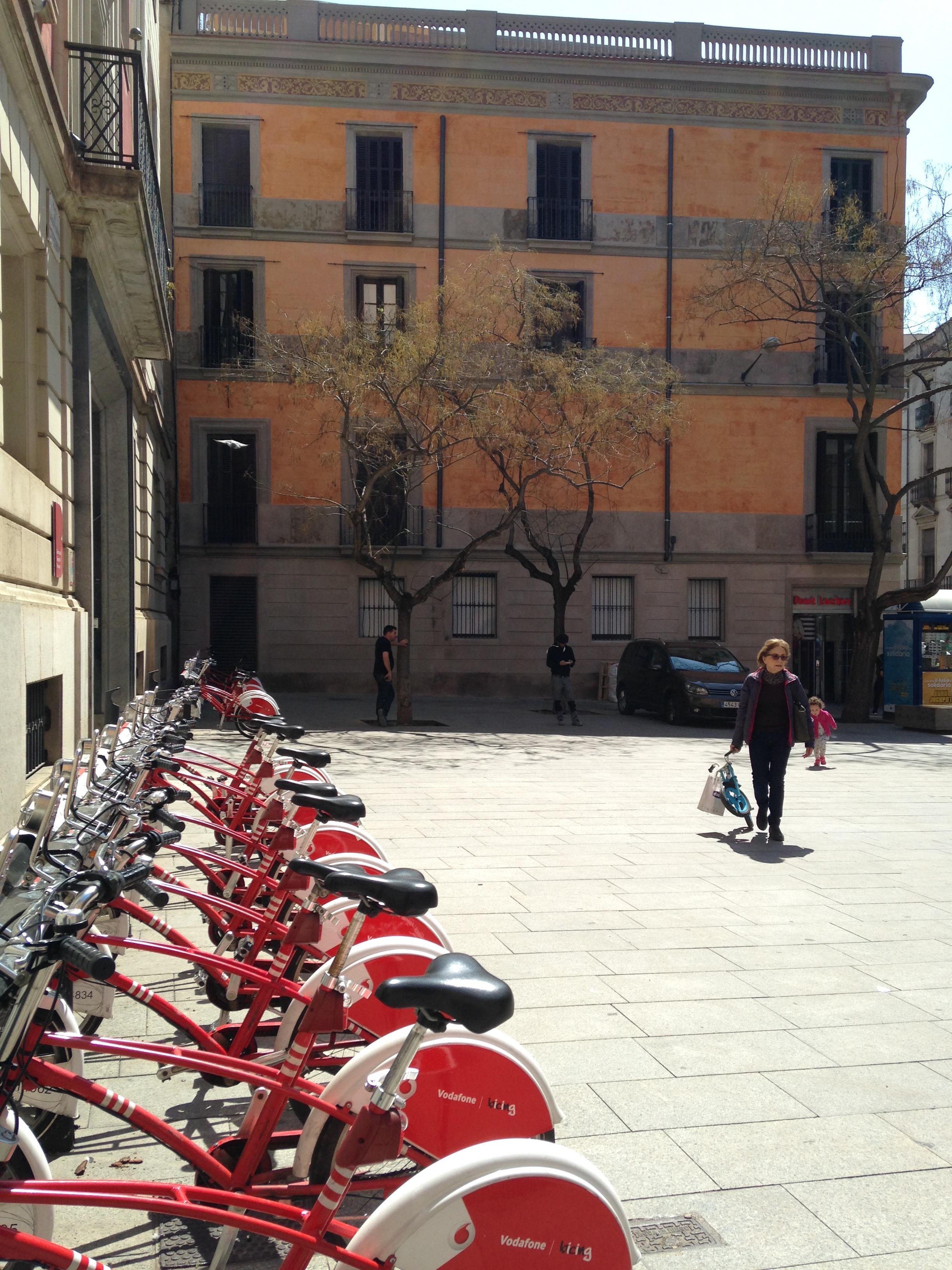 public bicycles - Barcelona