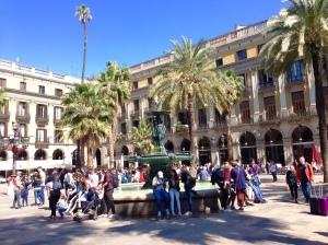 Placa Reial - Barcelona