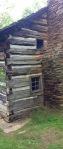 Walker Sisters cabin side view