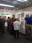 Viewing art at GFAA Gallery