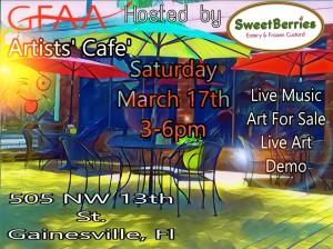 GFAA Artists' Cafe logo