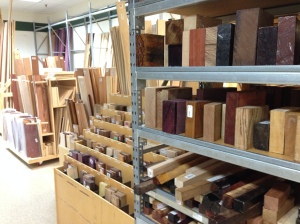 wood choices at Woodcraft