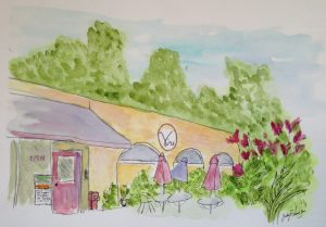 Sketch of The Vine Restaurant