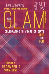GLAM 2018 poster