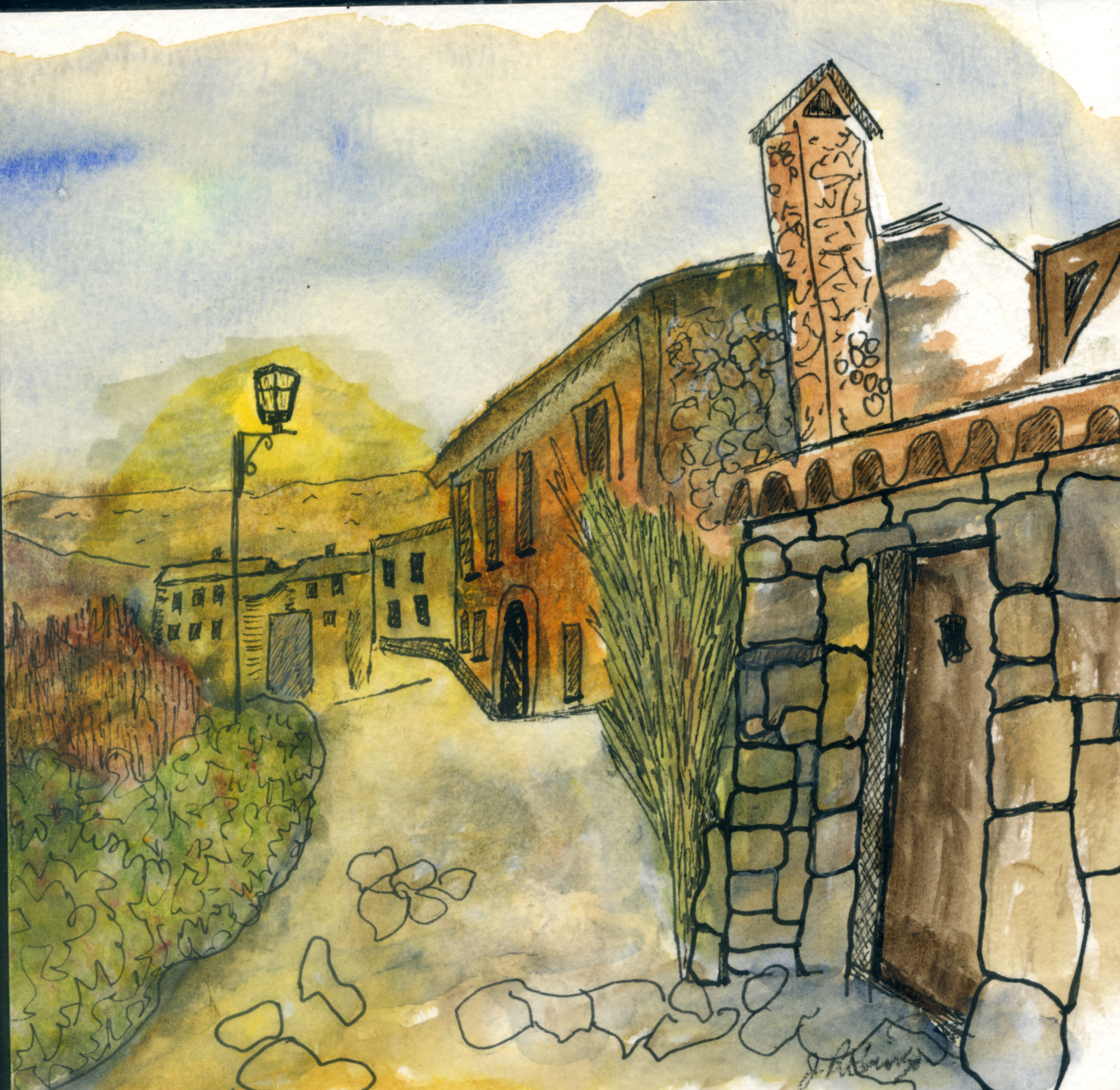 Medieval Village outside of Barcelona