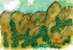 Mountains at Montserrat