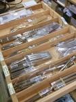 Piera Escoda brushes display case