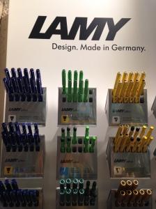 Range of Lamy pens at Raima