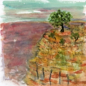 grand canyon watercolor