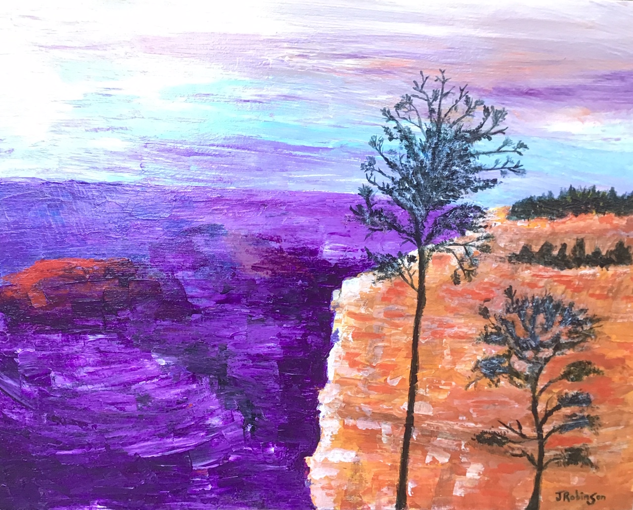 Acrylic Grand Canyon Sunset