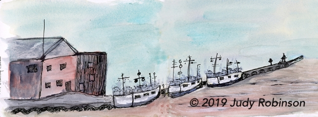 Fishing boats on Kettle Creek