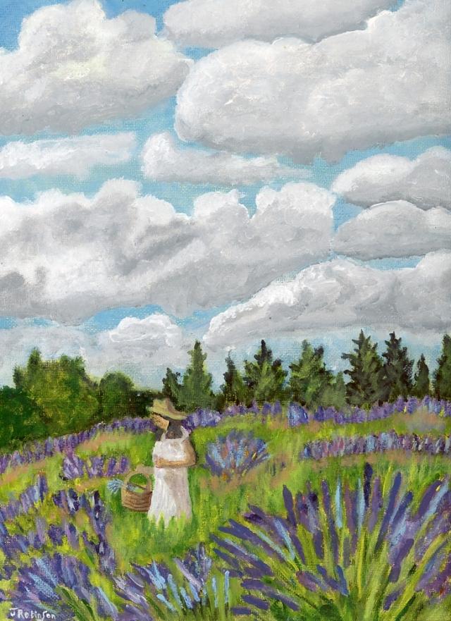 Oregon Lavender Garden