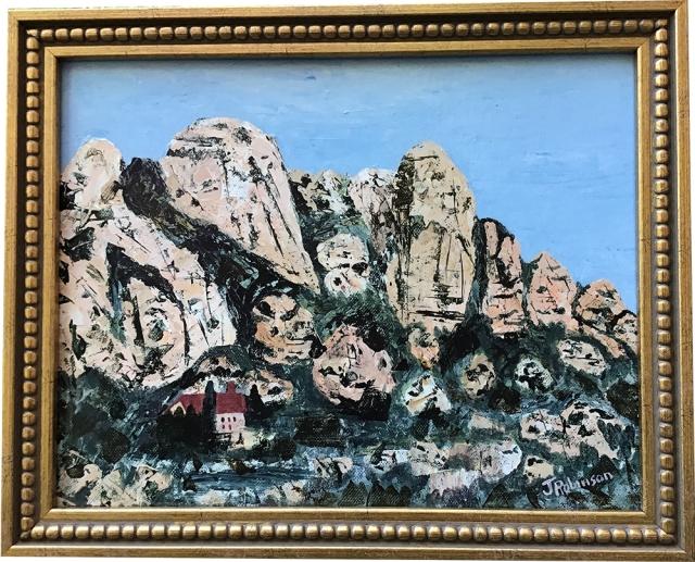 Acrylic Painting Montserrat