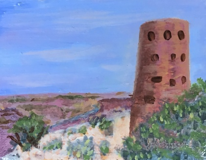 Mary Colter's Desert View Watchtower